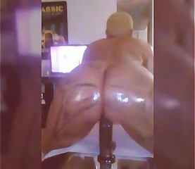 Brittney Jones Riding A Huge Cock