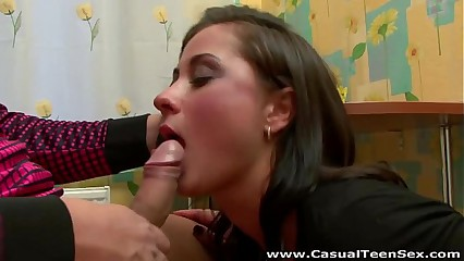 Casual Teen Sex - Pussy says YES to casual fuck