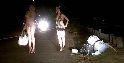 Nikki Ladyboys Street shemale whores