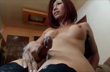 Teen Shemale Cumshot Compilation 2