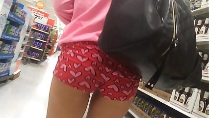 Teen booty shorts