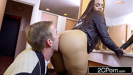 Slutty Student Mea Melone Blows Her Teacher In School Toilet