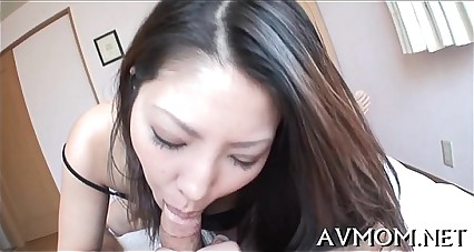 Hairy taut pussy mom gets fingered
