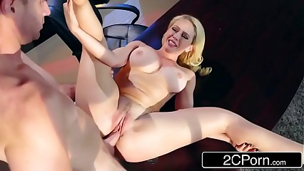 Hot Office Sex With Kagney Linn Karter