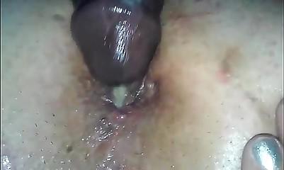 K & K big clit anal close up