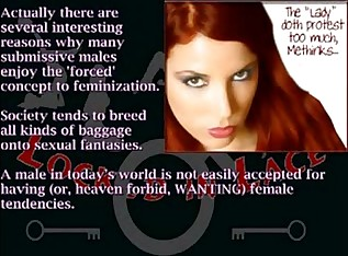 Locked In Lace - Forced Feminization 101