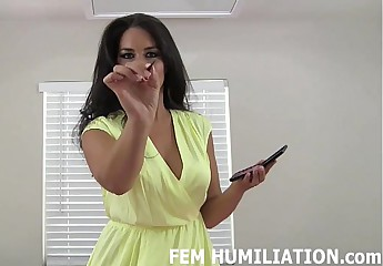 You are going to look so sexy as a sissy