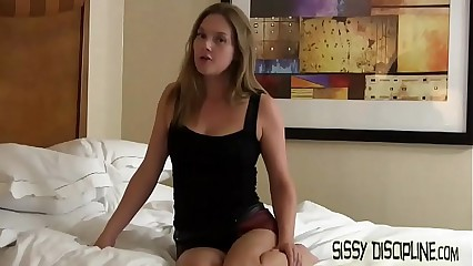 I am going to make you into a sissy bitch girl