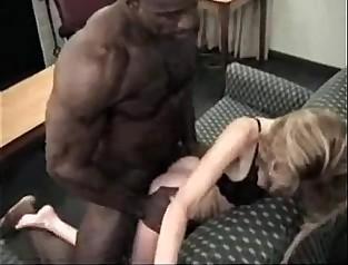 Skinny mature milf fucs black