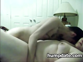 Chubby babe gets fucked by her skinny BF
