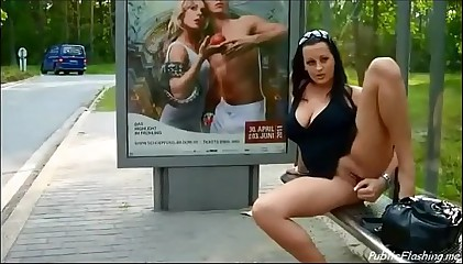 Horny wife public solo PublicFlashing.me