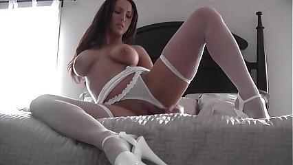 Sasha Aka Cindi / Sindee Lingerie Masturbation and Dildo