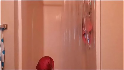 girl on shower #1