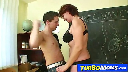 Hot czech cougar Helena student teacher harassment in school