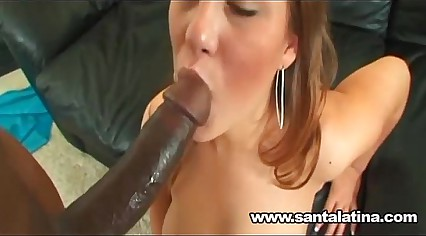 Kaylee Sanchez gets a big black dick in her pussy