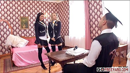 Candy Alexa Jazz Duro Michelle Moist Fucking the headmaster is serious business