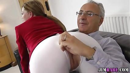 Female euro jockey fucks
