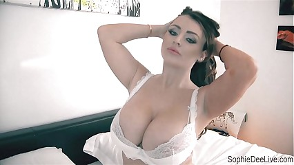 Play Hide and Seek with Sophie Dee's Pussy!