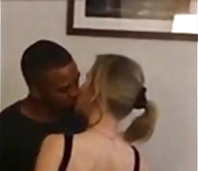 Tiny blonde wife has a dark cuckolding adventure