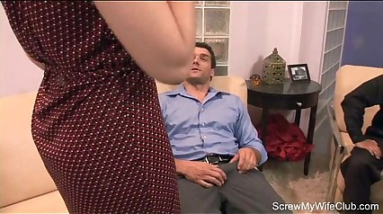 Brunette Wife Fucks Total Stranger