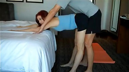 Sex and Yoga session with his mom -more at Sexvid.ml
