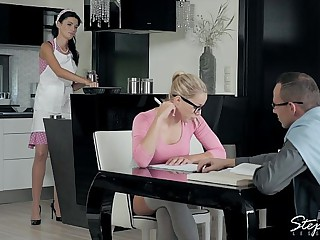 Babes - A Tasty Distraction, sexy threesome