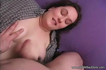 BBW Amateur Homemade Fun Session