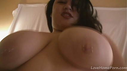 His cock vanishes in this great BBW