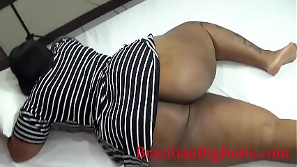 BBW big ass wearing dress without panties