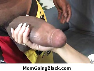 Black monster dick in Milfs tight pussy 34