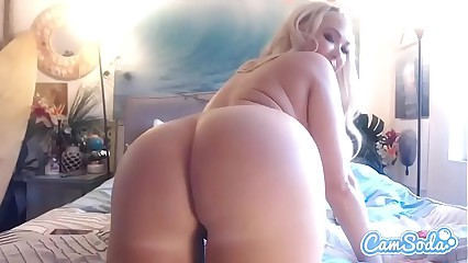 Summer Brielle big tits big ass blonde double vagina penetration.