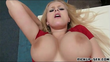Angel Wicky anal fucked in skating rink for some cash