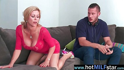 Big Long Hard Cock For Hungry For Sex Superb Milf (alexis fawx) video-03