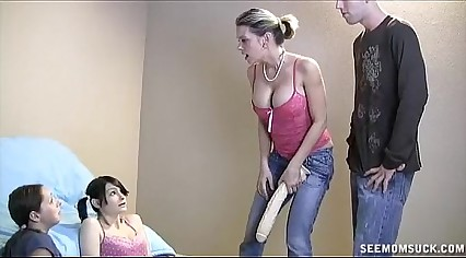 BUSTED Step Daughters Forced to Suck