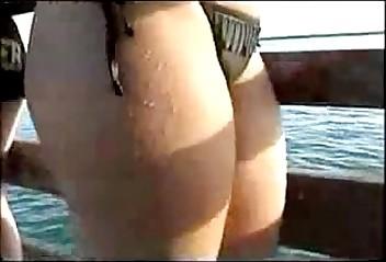 Chica De Bikini Negro
