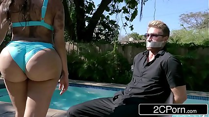 Bubble Butt Kim K Fucking Trapped Paparazzi - Lela Star