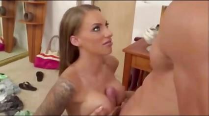 Sexxiest Slut Blonde Anal & Facial