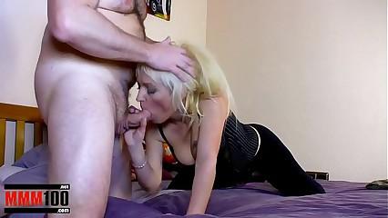 Petite blonde milf Spanish babe anal fuck
