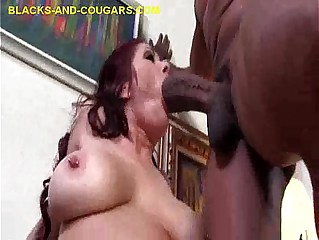 Double Black Cock for Cougar