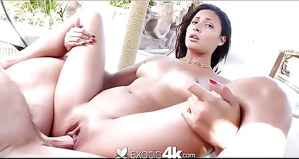 4K HD - Exotic4K brazilian babe with bouncy ass gets fucked hard