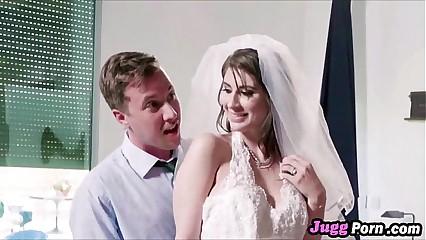 Wife Karina White Fucking Wedding Dress