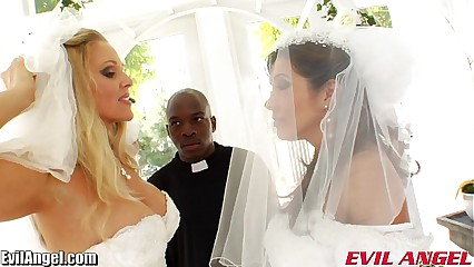EvilAngel Francesca Le Interracial Ass Fucking Threesome