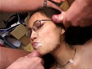 asian american bukkake - Bing video
