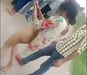 Bhabhi nude fight with strangers in public