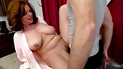 Step-Mom Andi James is sexted her Sons Cock