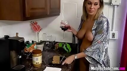 Son takes mom day & night - Nikki Brooks