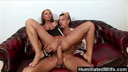 HumiliatedMilfs - Krisztina makes her ass gape for a massive dick