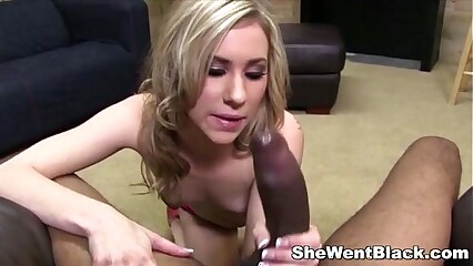 Blonde Teen Tysen Rich fucked POV by Black Cock