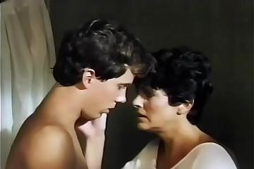 Mom gives son a bath