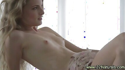 Small tit babe blowjob love making